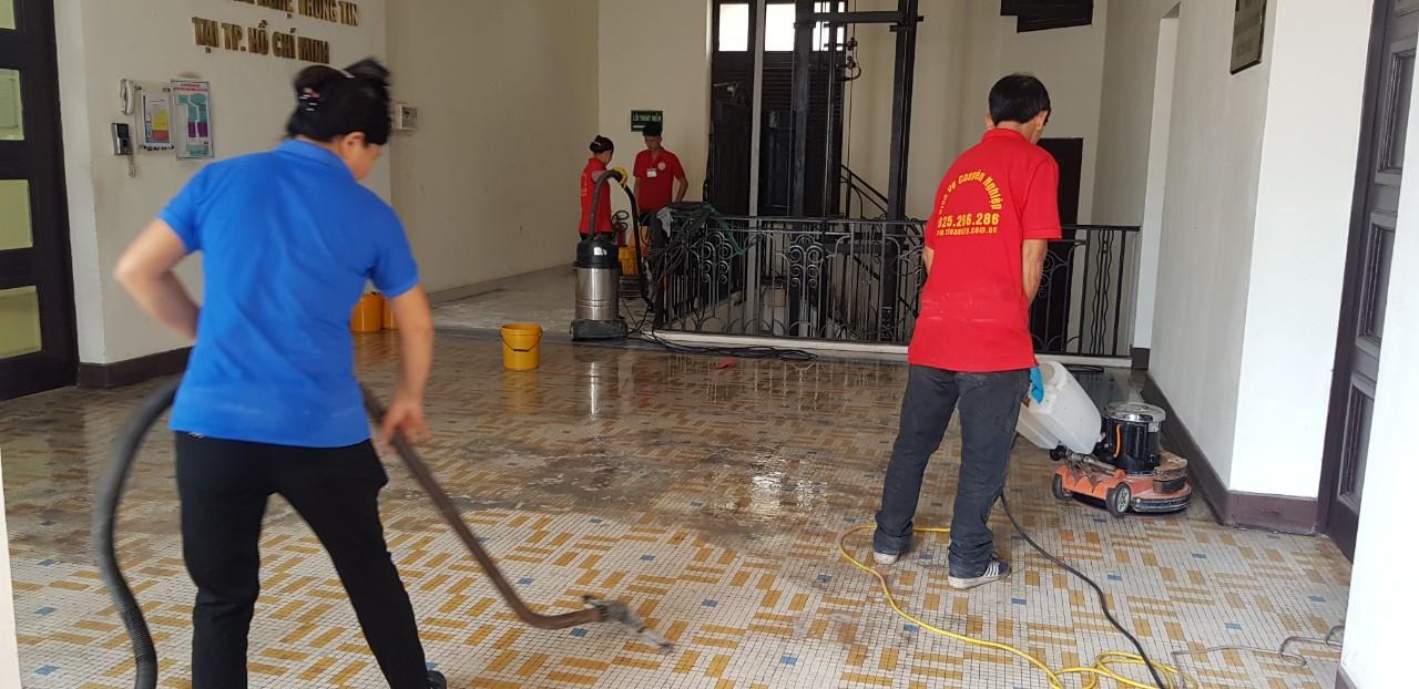 Dịch vụ tổng vệ sinh văn phòng tại HCM