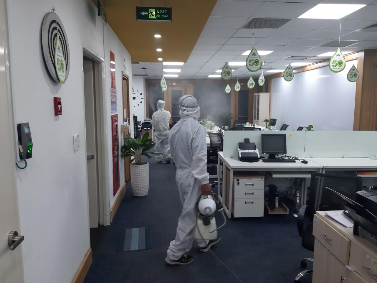 Dịch vụ khử trùng diệt khuẩn tòa nhà
